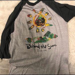 1985 Eric Clapton Behind The Sun Tour Shirt